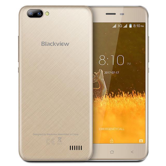 Blackview A7 золотой