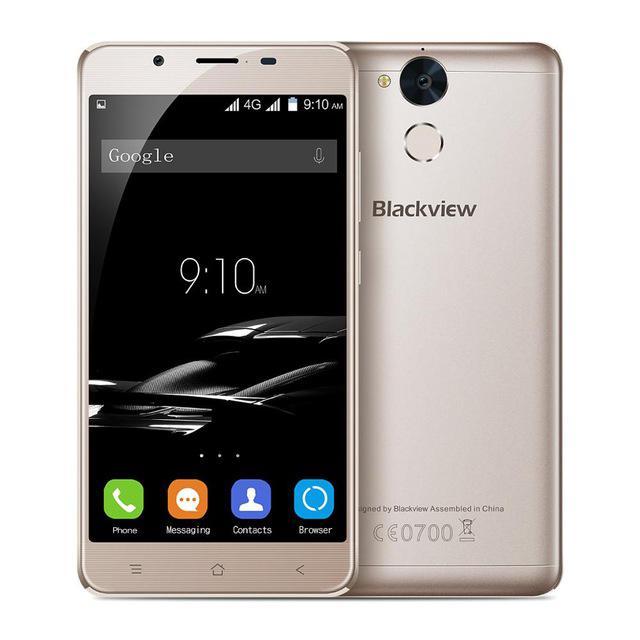 Blackview P2 золотой